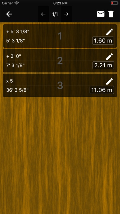 Feet Inches Construction Calc screenshot-3