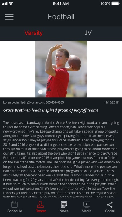 Grace Brethren Sports