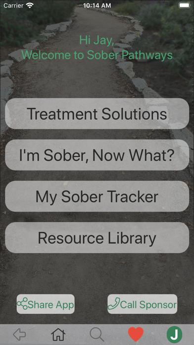 Sober Pathways screenshot #1