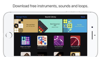 GarageBand Screenshots
