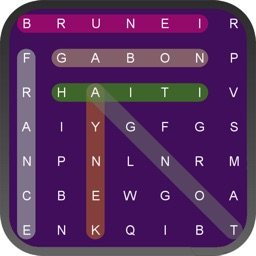 Country Word Search Puzzle
