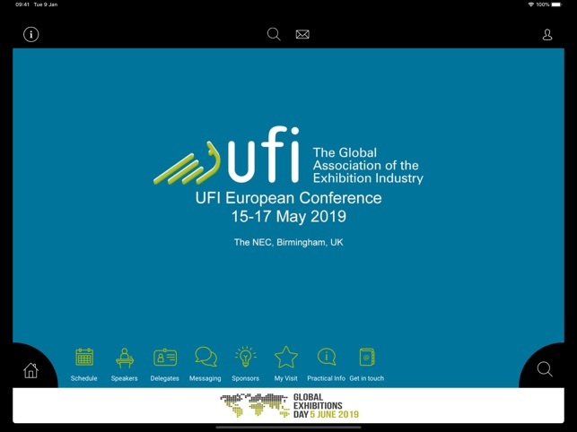 UFI European Conference 2019 on the App Store