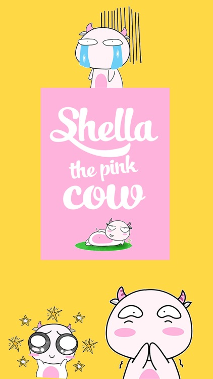 Shella The Pink Cow