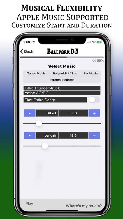 BallparkDJ Walkout Intros screenshot-5