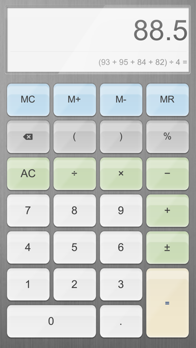 Calculator For Ipad review screenshots