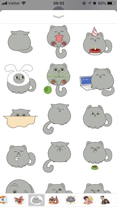 Cute Cat Emoji Funny Stickers screenshot 2