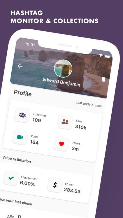 TikMonitor: Profiles Monitor