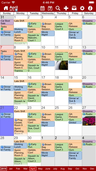 Screenshot #1 pour myCal PRO: Calendar & Events