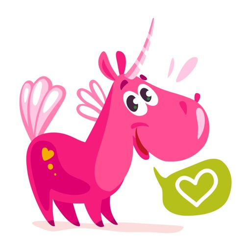Unicorn Stickers Sweet