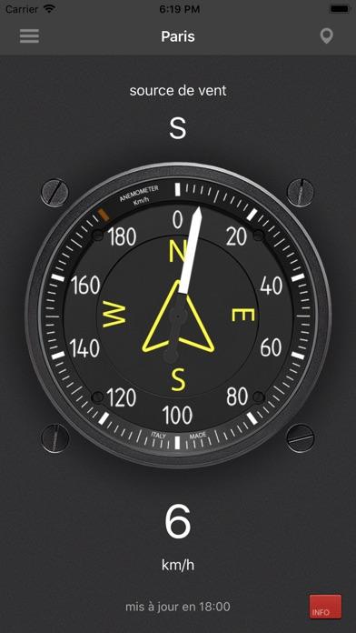 Screenshot #1 pour Anémomètre - Vitesse du vent