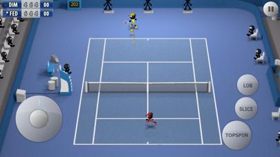 Stickman Tennis - Career ScreenShot1