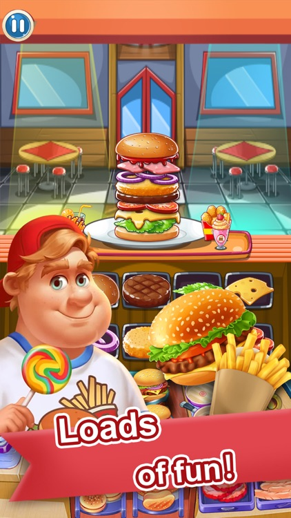Hungry Burger - Cooking Games