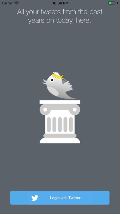 TweetStory - Daily past tweets screenshot-5