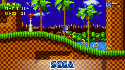 Screenshot from Sonic The Hedgehog Classic