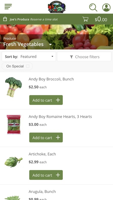 Joe's Produce screenshot 2