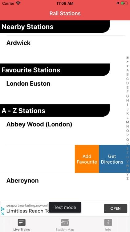 Train Times - Station Boards screenshot-4