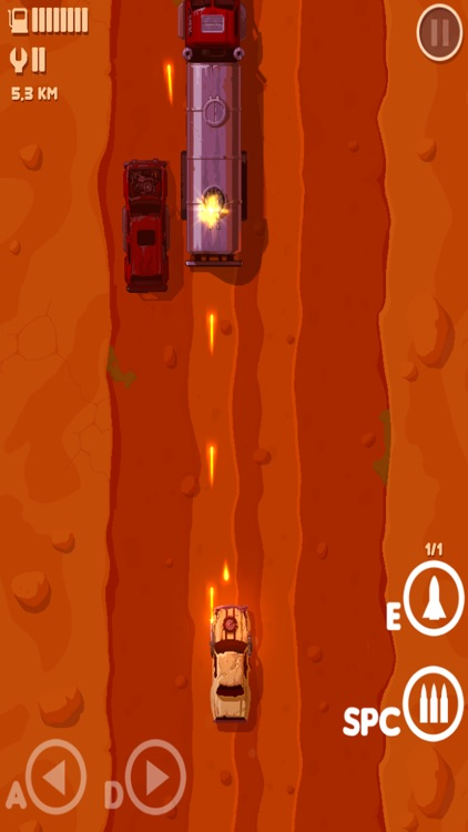 Furious Road-Single playergame screenshot-4
