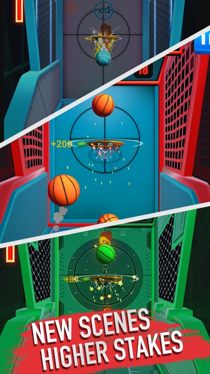 Score King-Basketball Games 3D screenshot-5