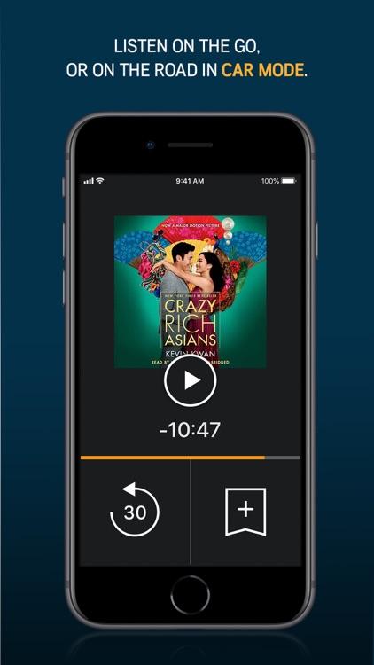Audible audiobooks & originals screenshot-3