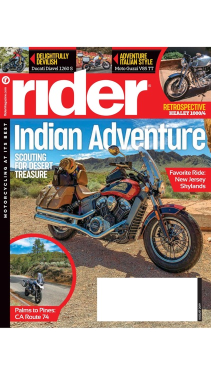 Rider Magazine. screenshot-1