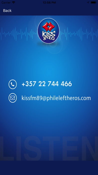 KISS 89.0 Cyprus screenshot four