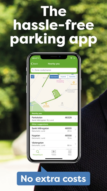 Parkster - Parking app screenshot-0