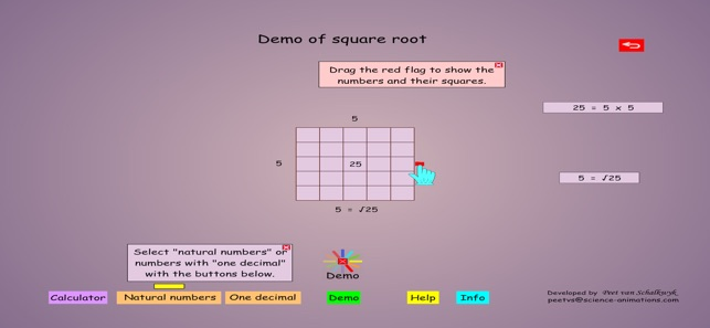 Square Root Animation