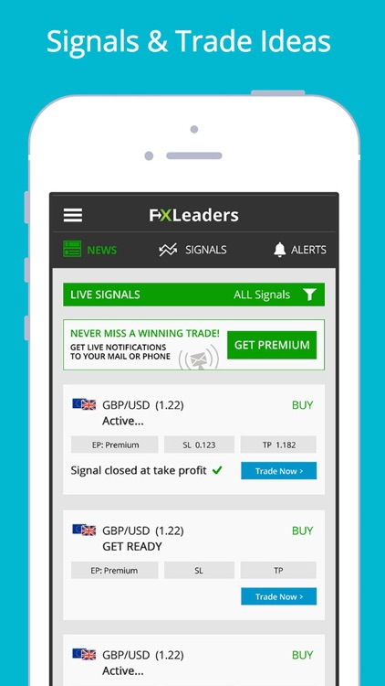 Forex Signals Live - FXLeaders screenshot-0