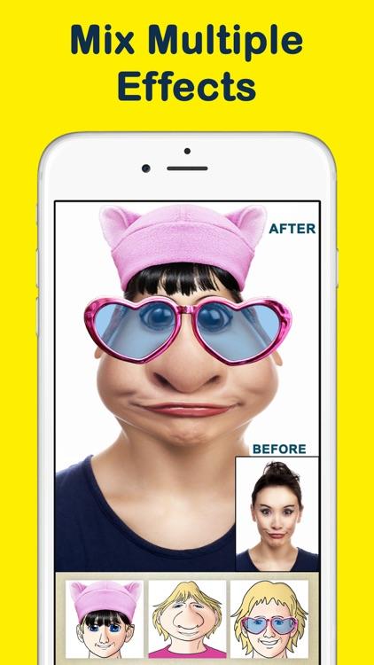 Crazy Helium Funny Face App screenshot-3