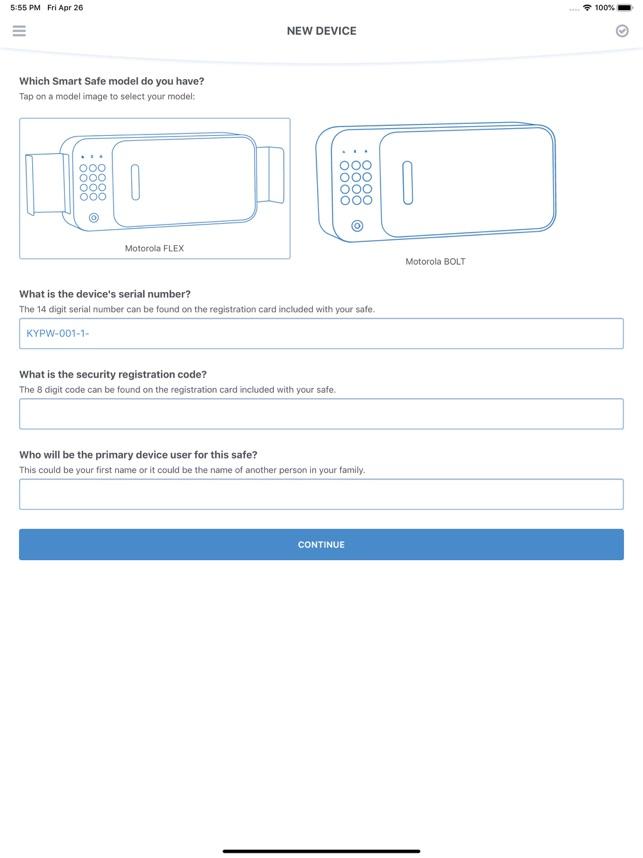 Motorola Smart Safe on the App Store