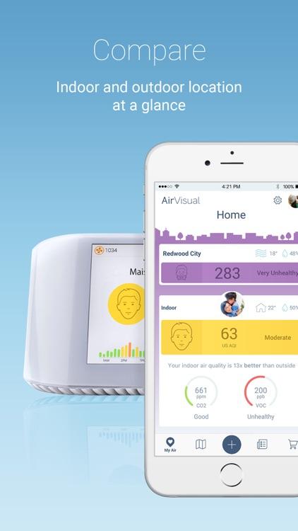 AirVisual Air Quality Forecast screenshot-3
