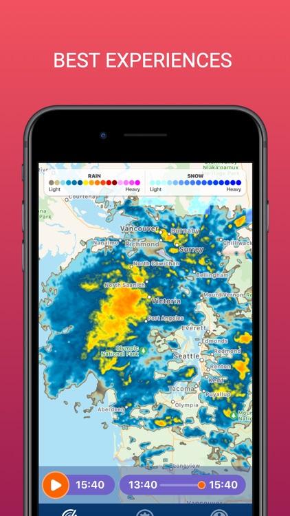 PocketRadar - my weather radar screenshot-4