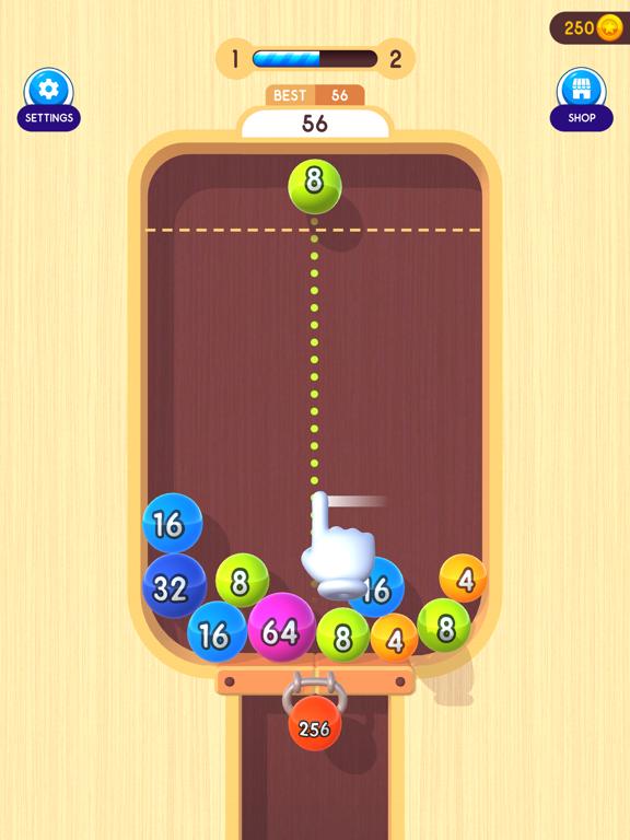 2048 Balls 3D screenshot