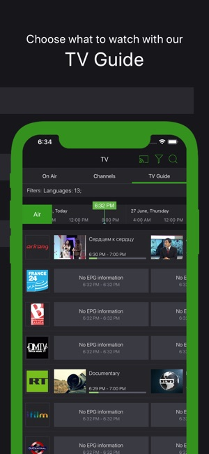 SPB TV – online TV worldwide on the App Store