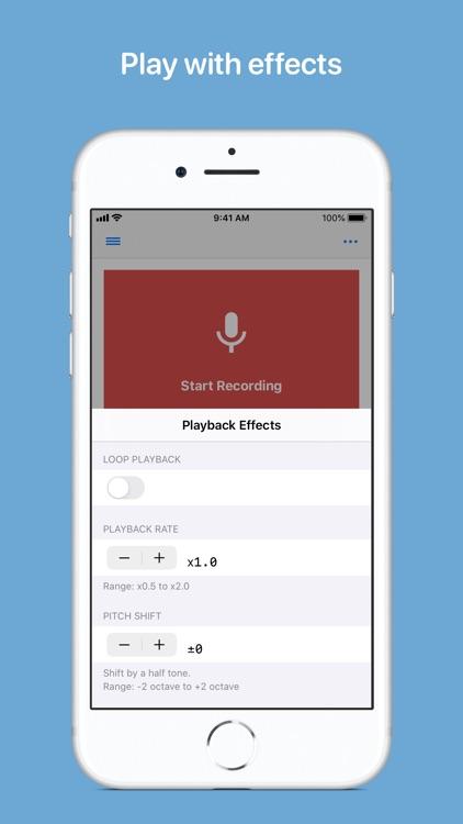 Reverse Audio screenshot-3
