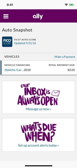 Ally Financial Payoff >> Ally Auto Mobile Pay En App Store