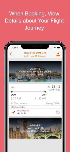 Air India on the App Store