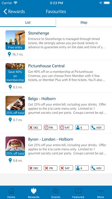 Barclays Premier Rewards screenshot three
