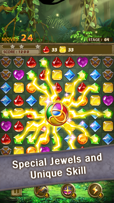 Jewels Jungle : Match 3 Puzzle screenshot 3