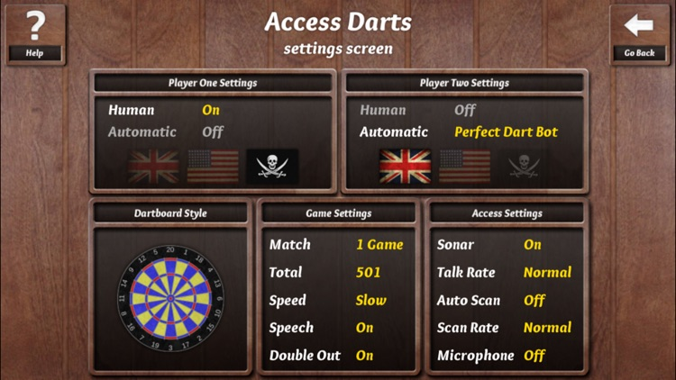 Access Darts