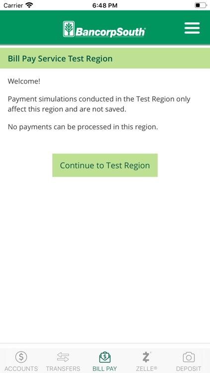 BancorpSouth Mobile screenshot-3