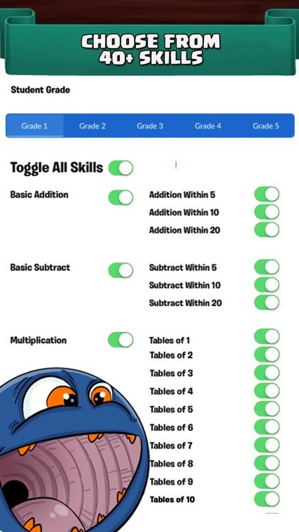 Monster Math 2 School: Games screenshot-4