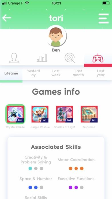 tori™ Dashboard screenshot 3