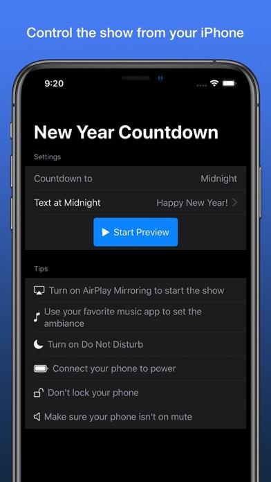 New Year Countdown Timer screenshot