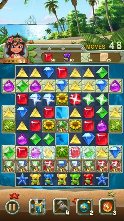 Paradise Jewel: Match-3 Puzzle screenshot-5