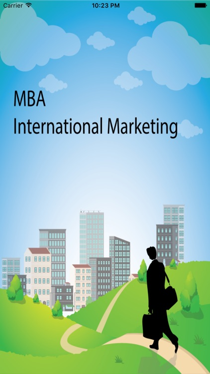 MBA International Marketing