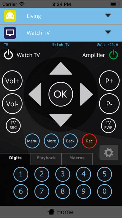 MyURemote - Remote Control App Screenshots