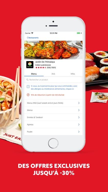 Just Eat FR - Livraison Repas screenshot-3