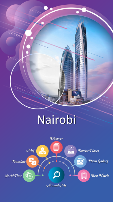 Nairobi Travel Guide Screenshot