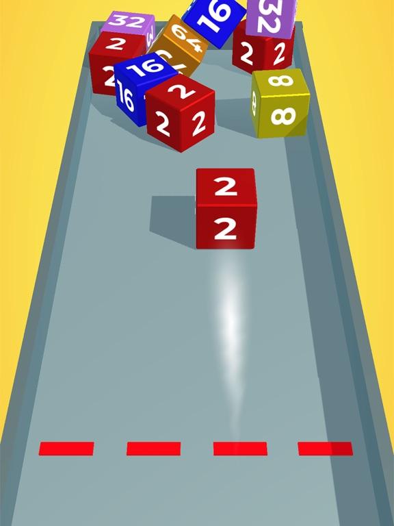Chain Cube: 2048 3D merge game screenshot 6